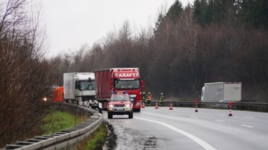 hedemuenden lkw unfall a7 19022020002