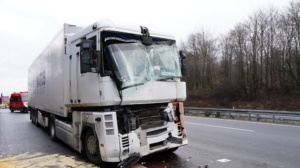 hedemuenden lkw unfall a7 19022020022