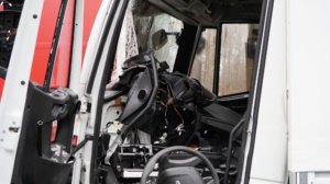 hedemuenden lkw unfall a7 19022020024
