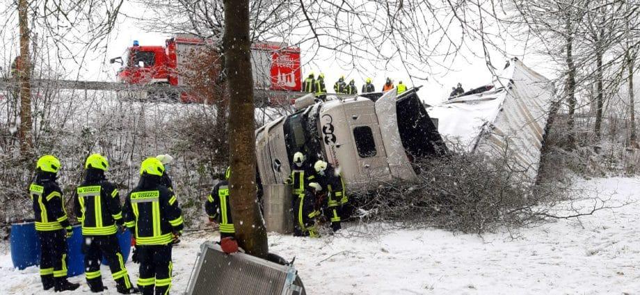sachsenhausen unfall 28012021